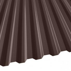 Профнастил C-21 (1051/1000) 0,5 полиэстер RAL 8017 (шоколадно-коричневый)