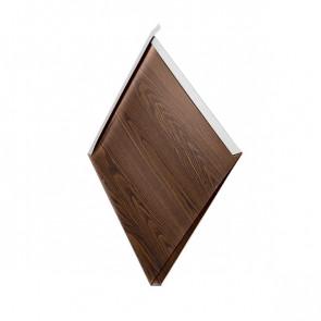 Декоративная панель «Металлошашка» (354/354) Printech 0,7 античный дуб 3D текстура