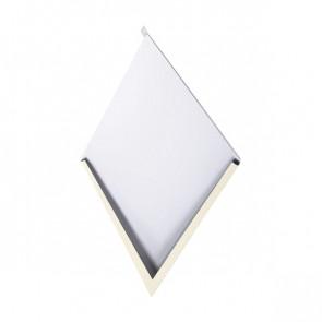 Декоративная панель «Металлошашка» (354/354) полиэстер 0,7 RAL 1015 (слоновая кость светлая)
