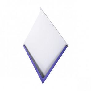 Декоративная панель «Металлошашка» (354/354) полиэстер 0,7 RAL 5002 (ультрамарин)