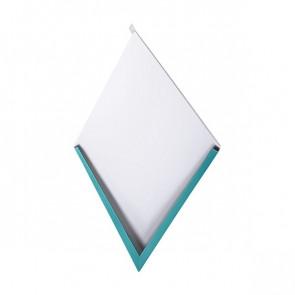 Декоративная панель «Металлошашка» (354/354) полиэстер 0,45 RAL 5021 (водная синь)