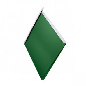 Декоративная панель «Металлошашка» (354/354) полиэстер 0,7 RAL 6002 (лиственно-зеленый)