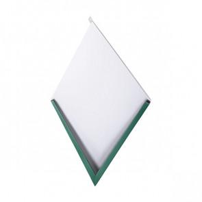 Декоративная панель «Металлошашка» (354/354) полиэстер 0,7 RAL 6005 (зеленый мох)