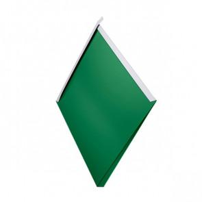 Декоративная панель «Металлошашка» (354/354) полиэстер 0,7 RAL 6029 (мятно-зеленый)