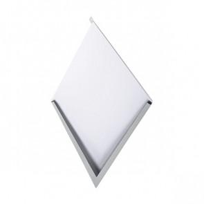 Декоративная панель «Металлошашка» (354/354) полиэстер 0,7 RAL 7004 (сигнальный серый)