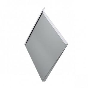 Декоративная панель «Металлошашка» (354/354) полиэстер 0,45 RAL 7004 (сигнальный серый)