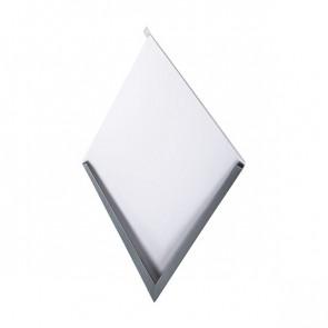 Декоративная панель «Металлошашка» (354/354) полиэстер 0,7 RAL 7024 (графитовый серый)