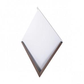 Декоративная панель «Металлошашка» (354/354) стальной бархат 0,55 RAL 8017 (шоколадно-коричневый)