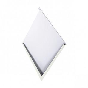 Декоративная панель «Металлошашка» (354/354) полиэстер 0,45 RAL 9002 (серо-белый)