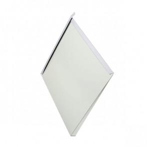Декоративная панель «Металлошашка» (354/354) полиэстер 0,7 RAL 9002 (серо-белый)