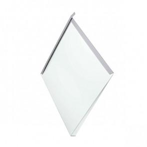 Декоративная панель «Металлошашка» (354/354) полиэстер 0,7 RAL 9003 (сигнальный белый)