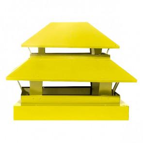 Дымник простой двухъярусный RAL 1018 (цинково-желтый)