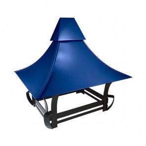 Дымник кованый RAL 5005 (сигнальный синий)