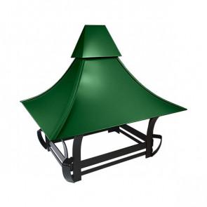 Дымник кованый RAL 6002 (лиственно-зеленый)