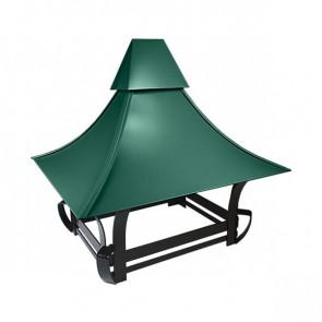 Дымник кованый RAL 6005 (зеленый мох)