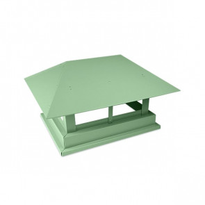 Дымник простой RAL 6019 (бело-зеленый)