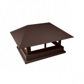 Дымник простой RAL 8017 (шоколадно-коричневый)