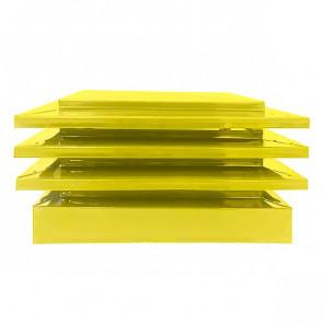 Дымник с дефлектором RAL 1018 (цинково-желтый)