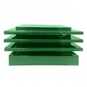 Дымник с дефлектором RAL 6002 (лиственно-зеленый)