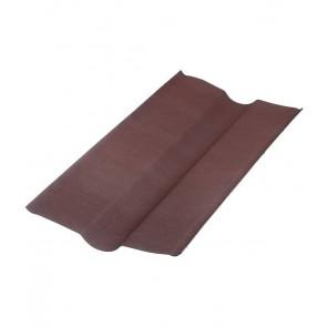 Ендова элемент кровли для черепицы Ондувилла (1000 мм) цвет коричневый 3D