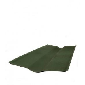 Ендова элемент кровли для черепицы Ондувилла (1000 мм) цвет зеленый 3D