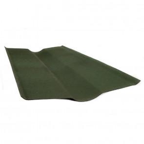 Ендова элемент кровли для черепицы Ондулин (250*250*1000) цвет зеленый