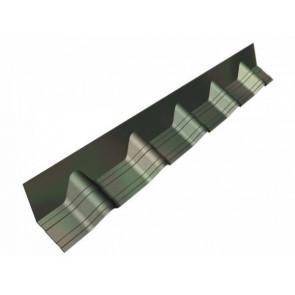Конек (основание), покрывающий фартук для черепицы Ондувилла (140*1020) цвет зеленый 3D