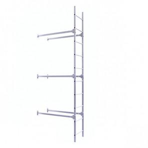 Лестница фасадная BORGE нижняя секция 3000 мм ZN (оцинкованная сталь) в комплекте