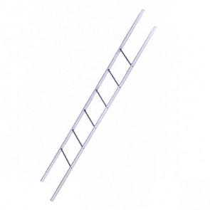 Лестница фасадная BORGE секция 1800 мм ZN (оцинкованная сталь)