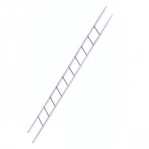 Лестница фасадная BORGE секция 3000 мм ZN (оцинкованная сталь)