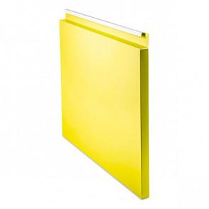 Фасадная панель № 1 (559*400) RAL 1018 (цинково-желтый)