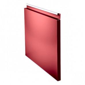 Фасадная панель № 1 (559*400) RAL 3003 (рубиново-красный)