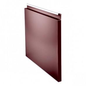 Фасадная панель № 1 (559*400) RAL 3005 (винно-красный)