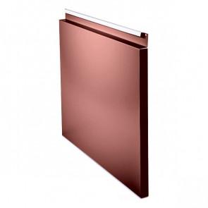 Фасадная панель № 1 (559*400) RAL 3009 (красная окись)