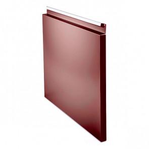 Фасадная панель № 1 (559*400) RAL 3011 (коричнево-красный)
