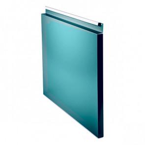 Фасадная панель № 1 (559*400) RAL 5021 (водная синь)
