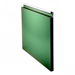 Фасадная панель № 1 (559*400) RAL 6002 (лиственно-зеленый)