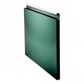 Фасадная панель № 1 (559*400) RAL 6005 (зеленый мох)