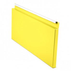 Фасадная панель № 2 (559*220) RAL 1018 (цинково-желтый)