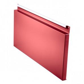 Фасадная панель № 2 (559*220) RAL 3003 (рубиново-красный)