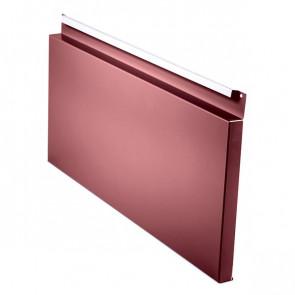Фасадная панель № 2 (559*220) RAL 3005 (винно-красный)