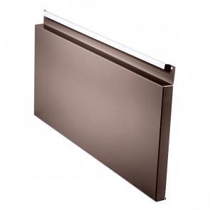 Фасадная панель № 2 (559*220) RAL 8017 (шоколадно-коричневый)