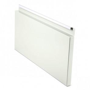 Фасадная панель № 2 (559*220) RAL 9002 (серо-белый)