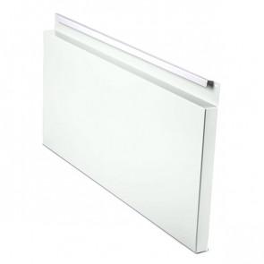 Фасадная панель № 2 (559*220) RAL 9003 (сигнальный белый)