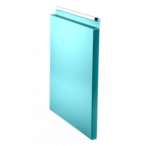 Фасадная панель № 3 (350*400) RAL 5021 (водная синь)