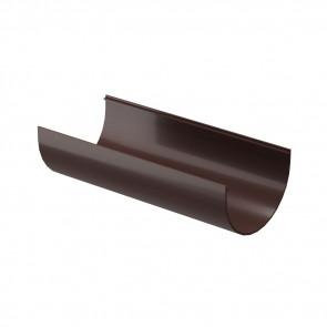 Желоб водосточный DOCKE Premium D 120,65*3000, шоколад