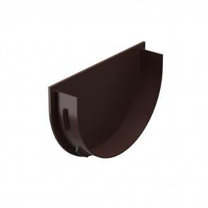 Заглушка воронки D 120 DOCKE Premium, шоколад