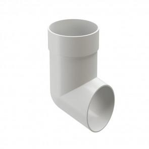 Колено сливное (наконечник, отвод) D 85 DOCKE Premium, пломбир