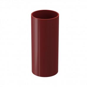 Труба водосточная DOCKE Premium D 85,73*3000, гранат