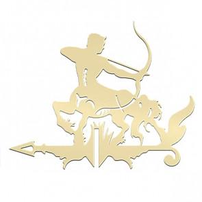 Флюгер «КЕНТАВР-1» 01-020 (700*800) RAL 1014 (слоновая кость)
